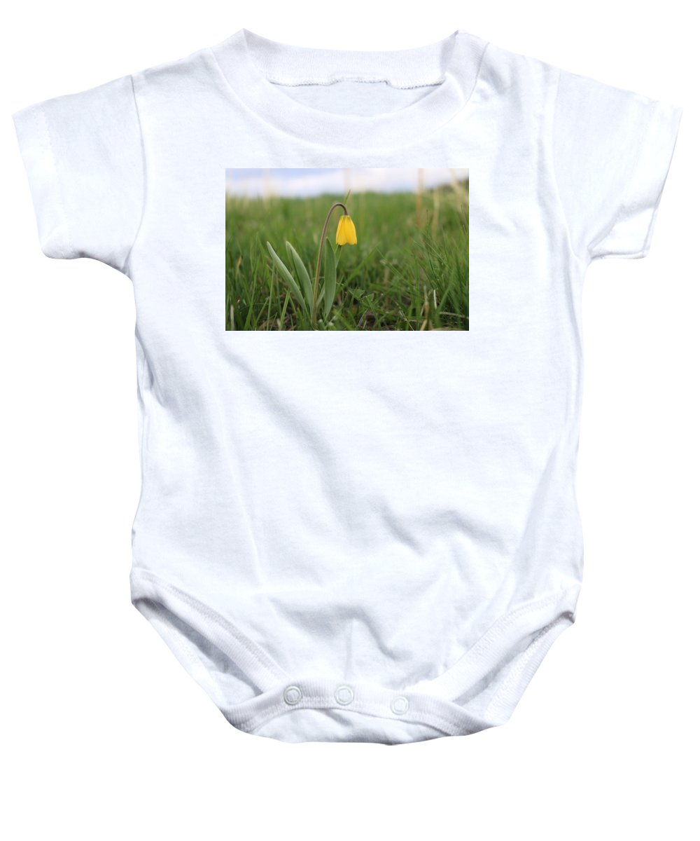 Flower Baby Onesie featuring the photograph Mountain Flower 2 by Jesse Woodward