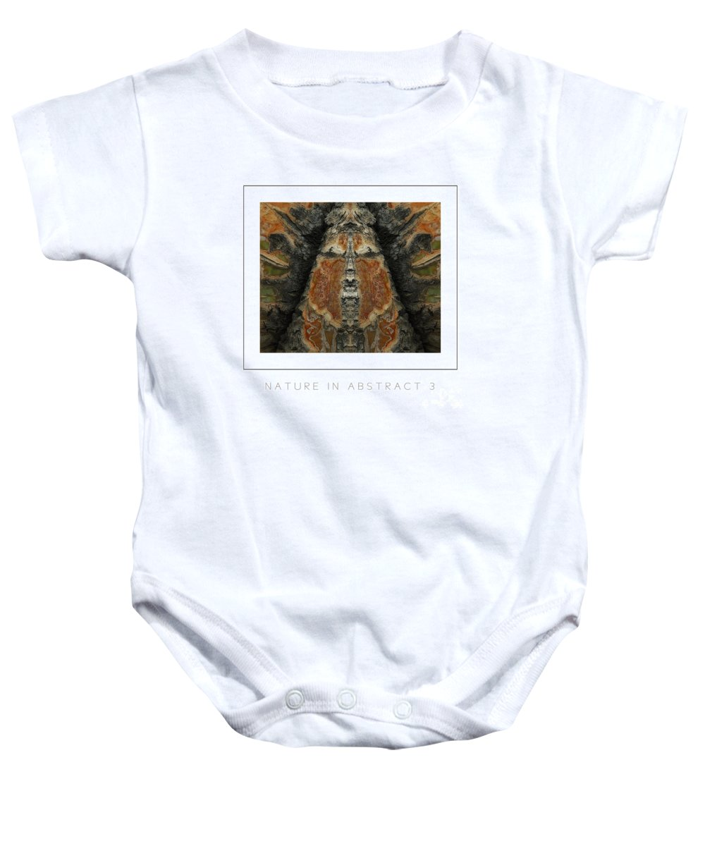 Nature Baby Onesie featuring the photograph Nature In Abstract 3 Poster by Mike Nellums