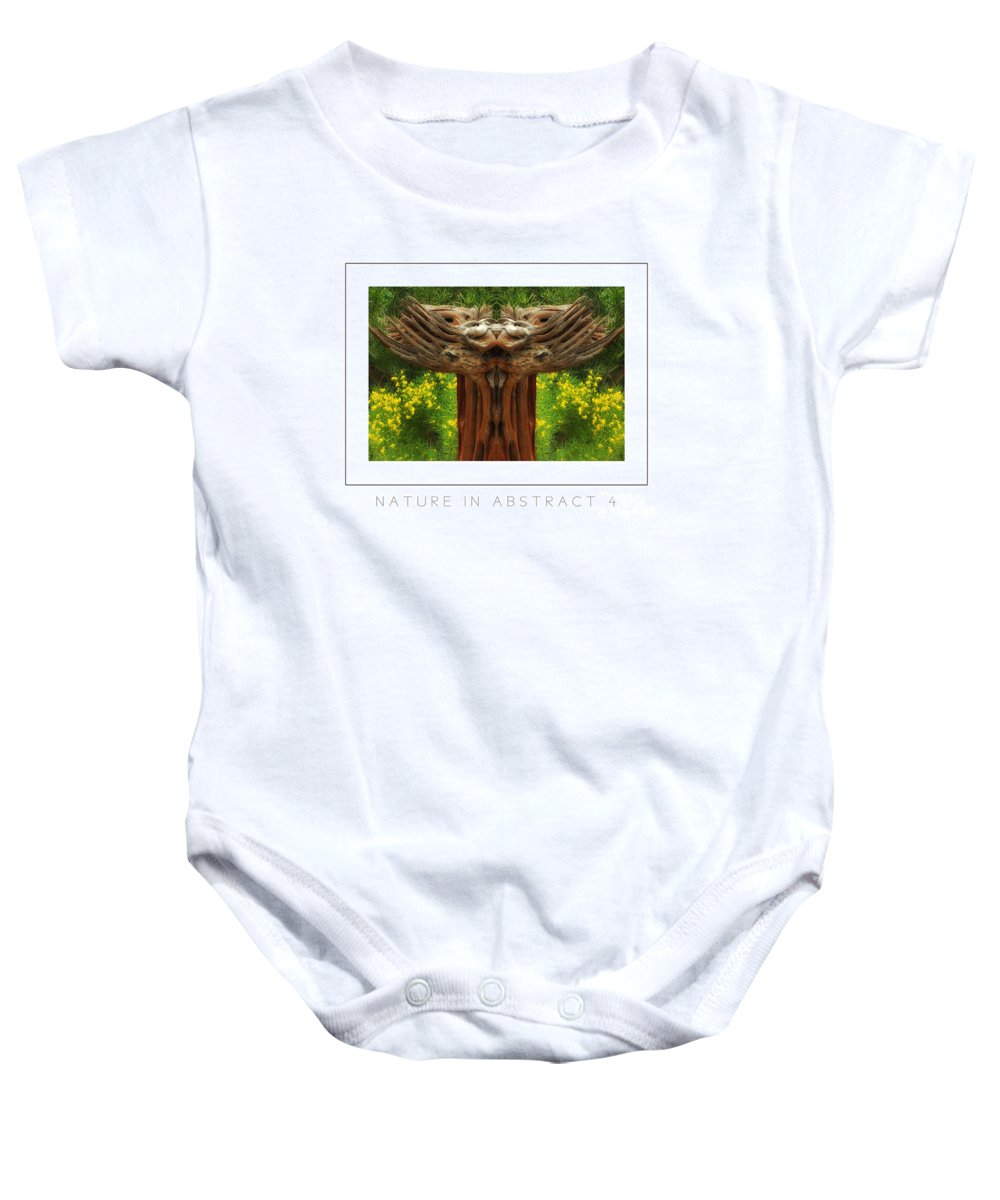 Baby Onesie featuring the photograph Nature In Abstract 4 Poster by Mike Nellums
