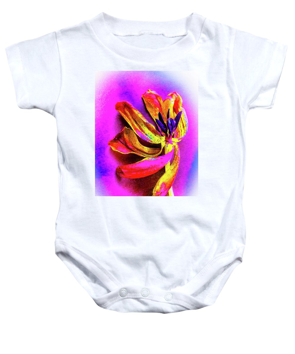 Flower Baby Onesie featuring the photograph New Life by Ali Bailey