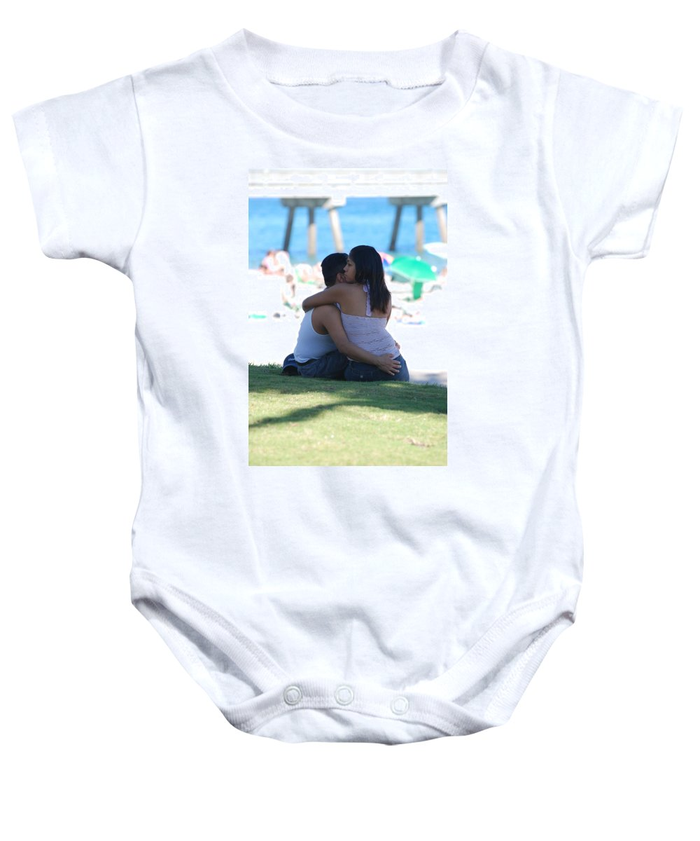People Baby Onesie featuring the photograph Not Married by Rob Hans