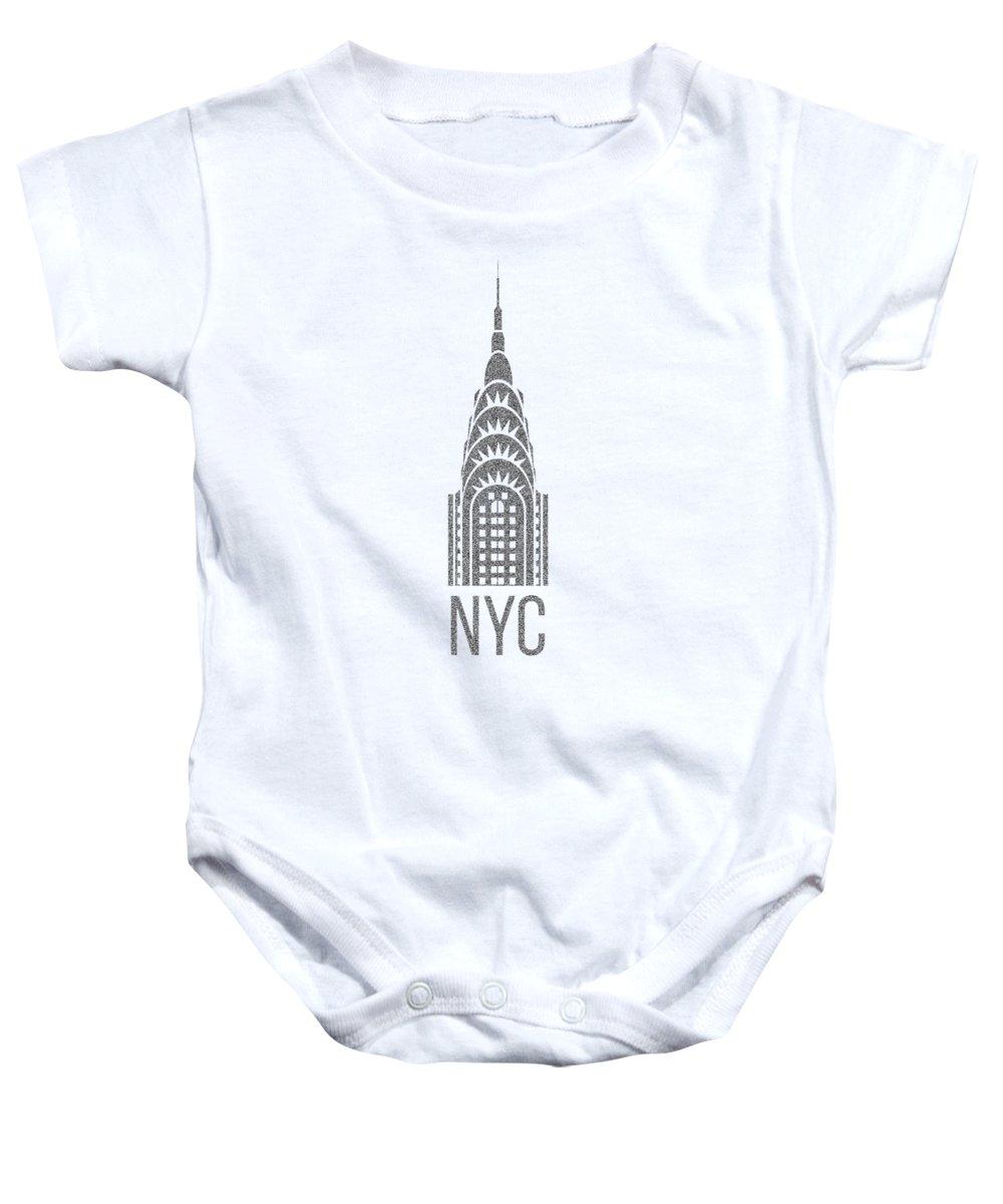 Chrysler Building Baby Onesies