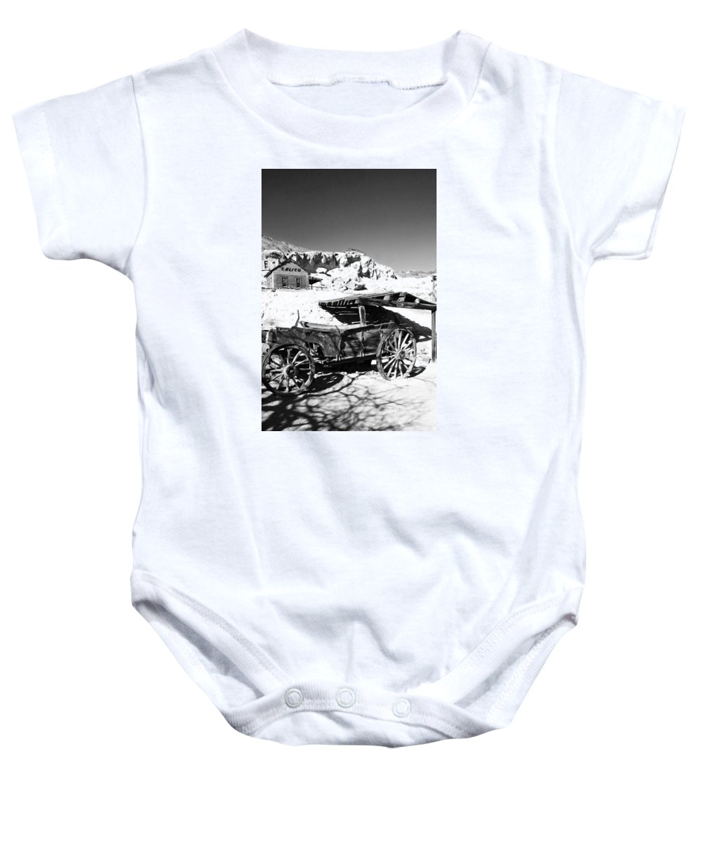 Old Baby Onesie featuring the photograph Old Cart by Alex Antoine