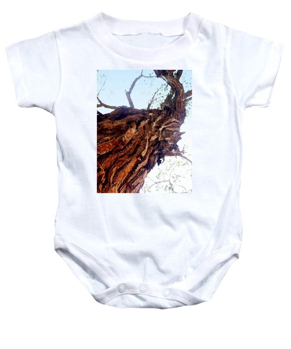 Tree Baby Onesie featuring the photograph Old Tree by Marty Koch