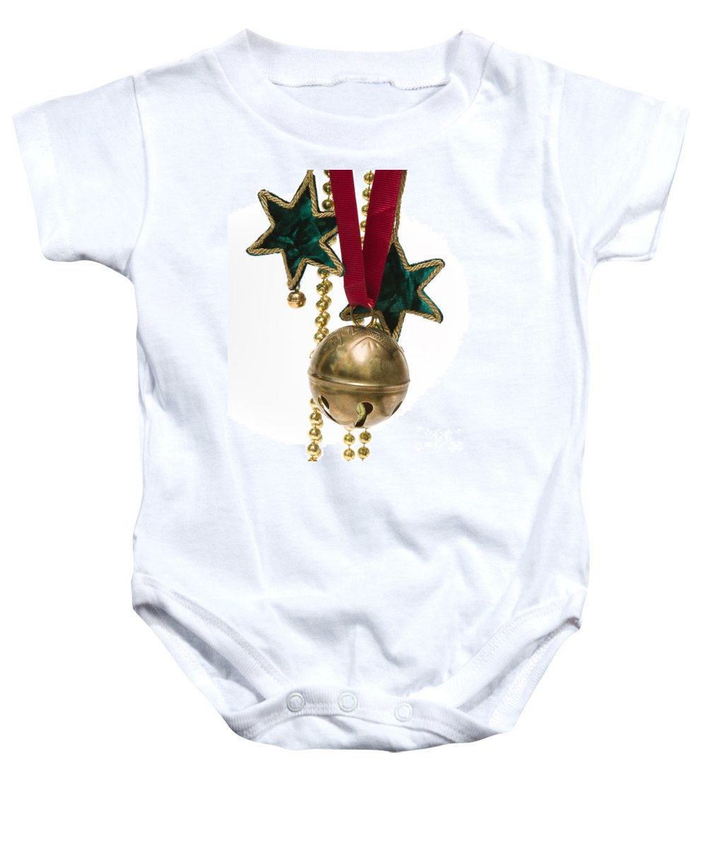 Christmas Baby Onesie featuring the photograph Ornaments by Louise Heusinkveld