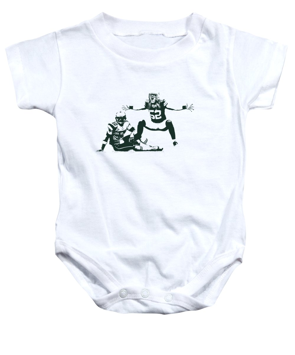 c190af174 Packers Clay Matthews Sack Onesie for Sale by Joe Hamilton