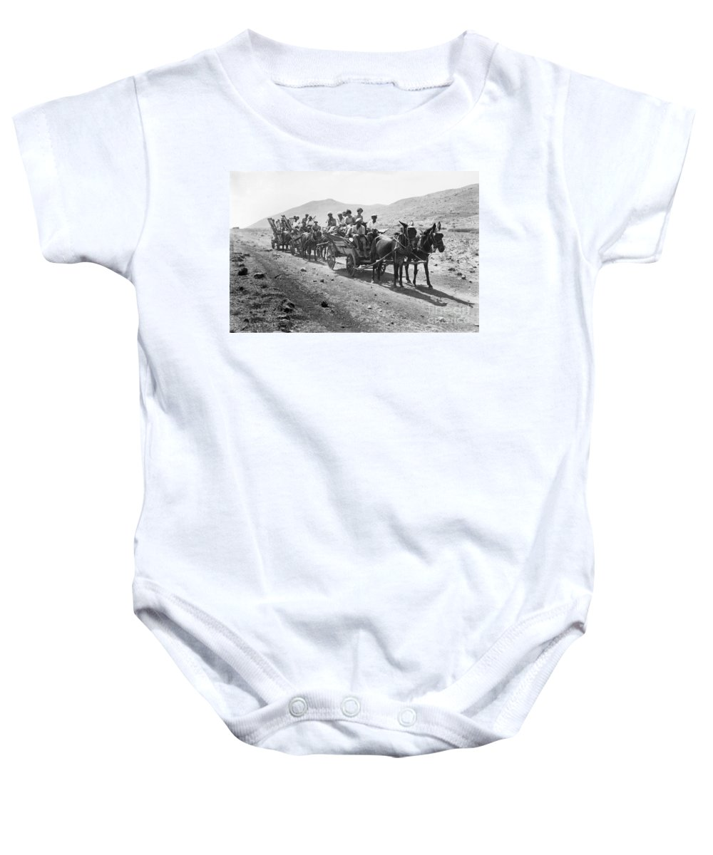 1920 Baby Onesie featuring the photograph Palestine Colonists, 1920 by Granger