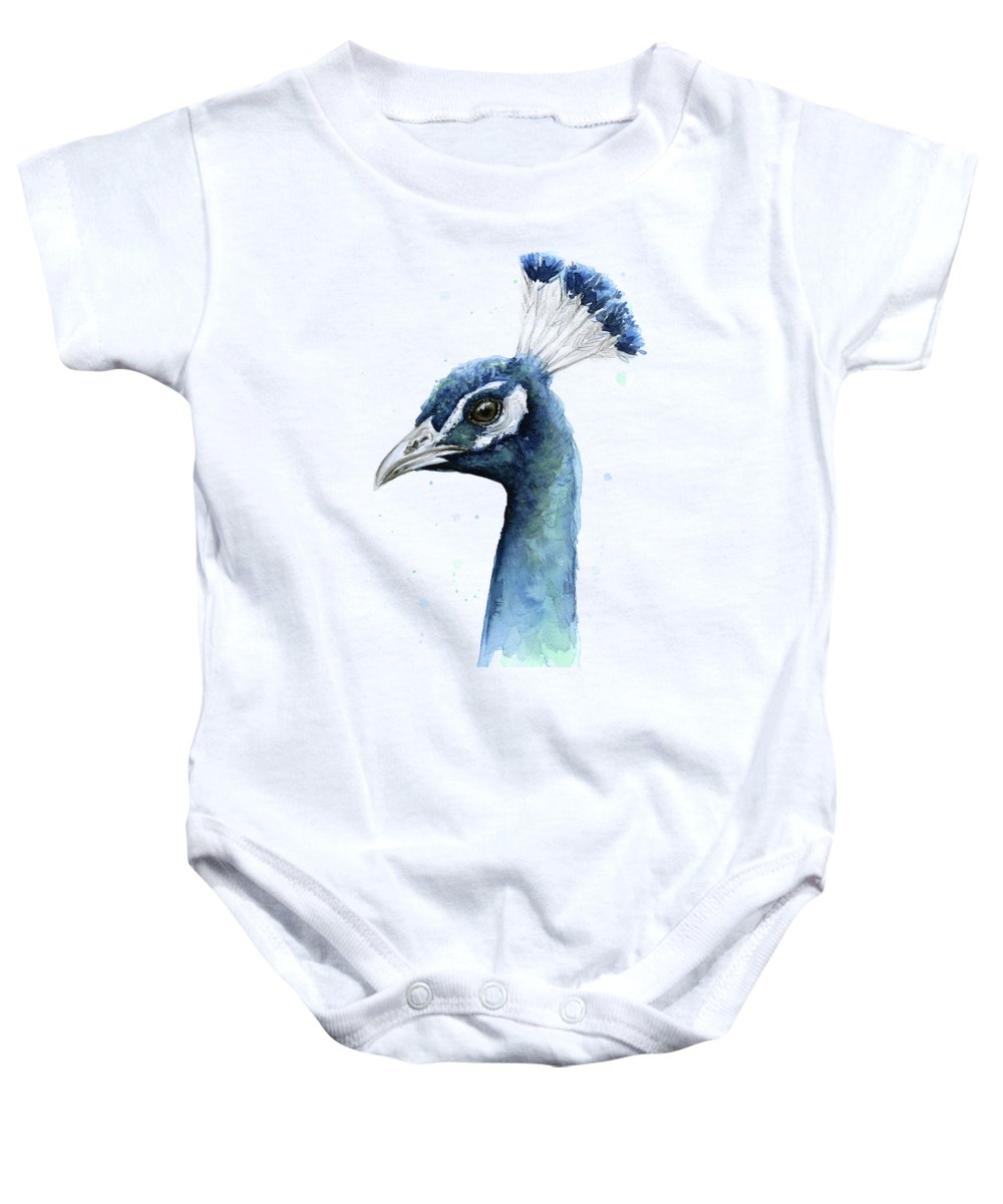 Peacock Baby Onesies