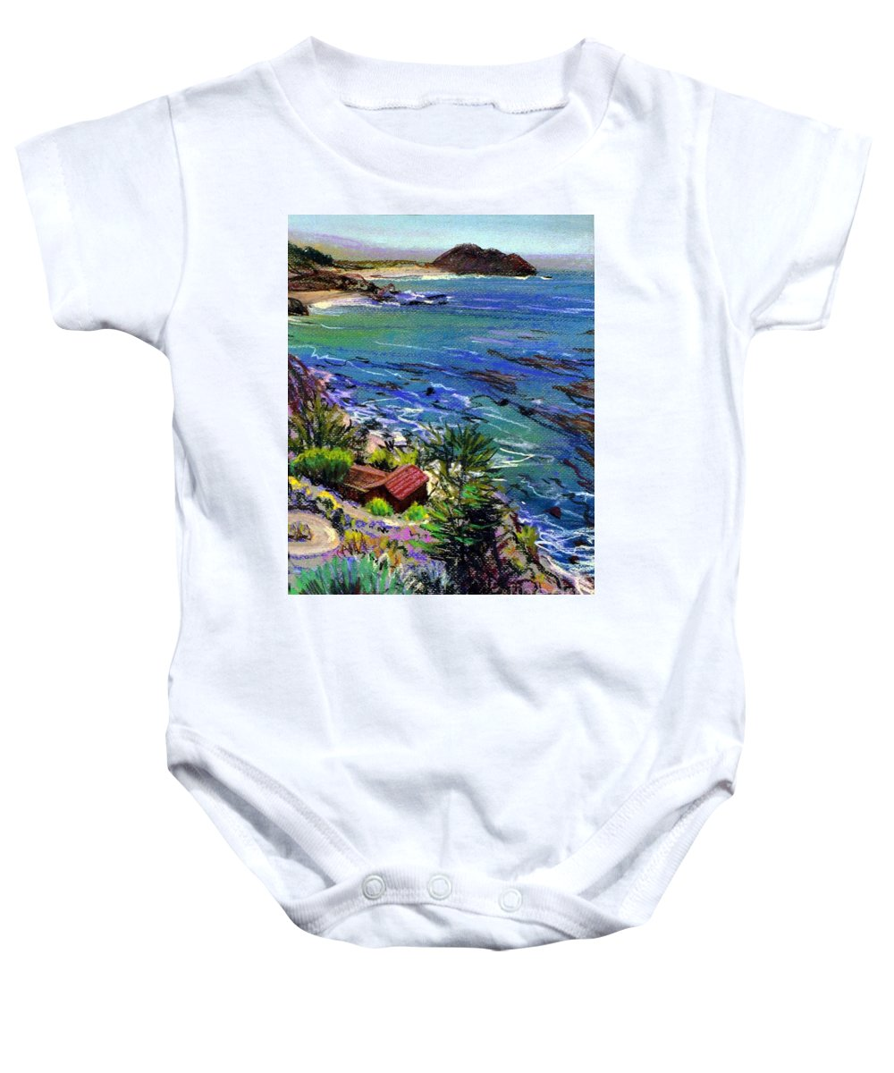 Point Sir Baby Onesie featuring the painting Point Sir by Donald Maier