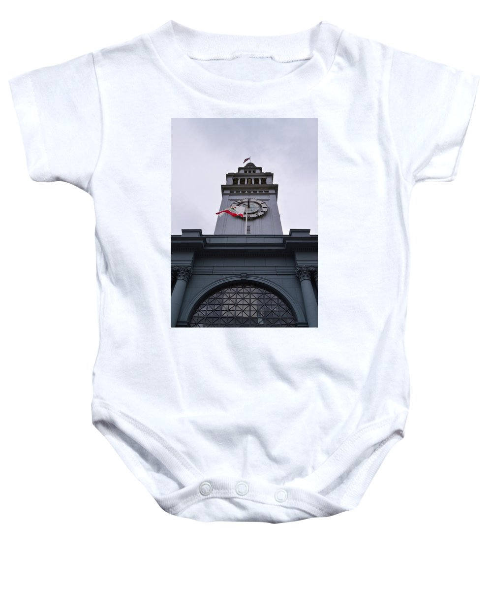 Port Of San Francisco Baby Onesie featuring the photograph Port Of San Francisco by Warren Thompson
