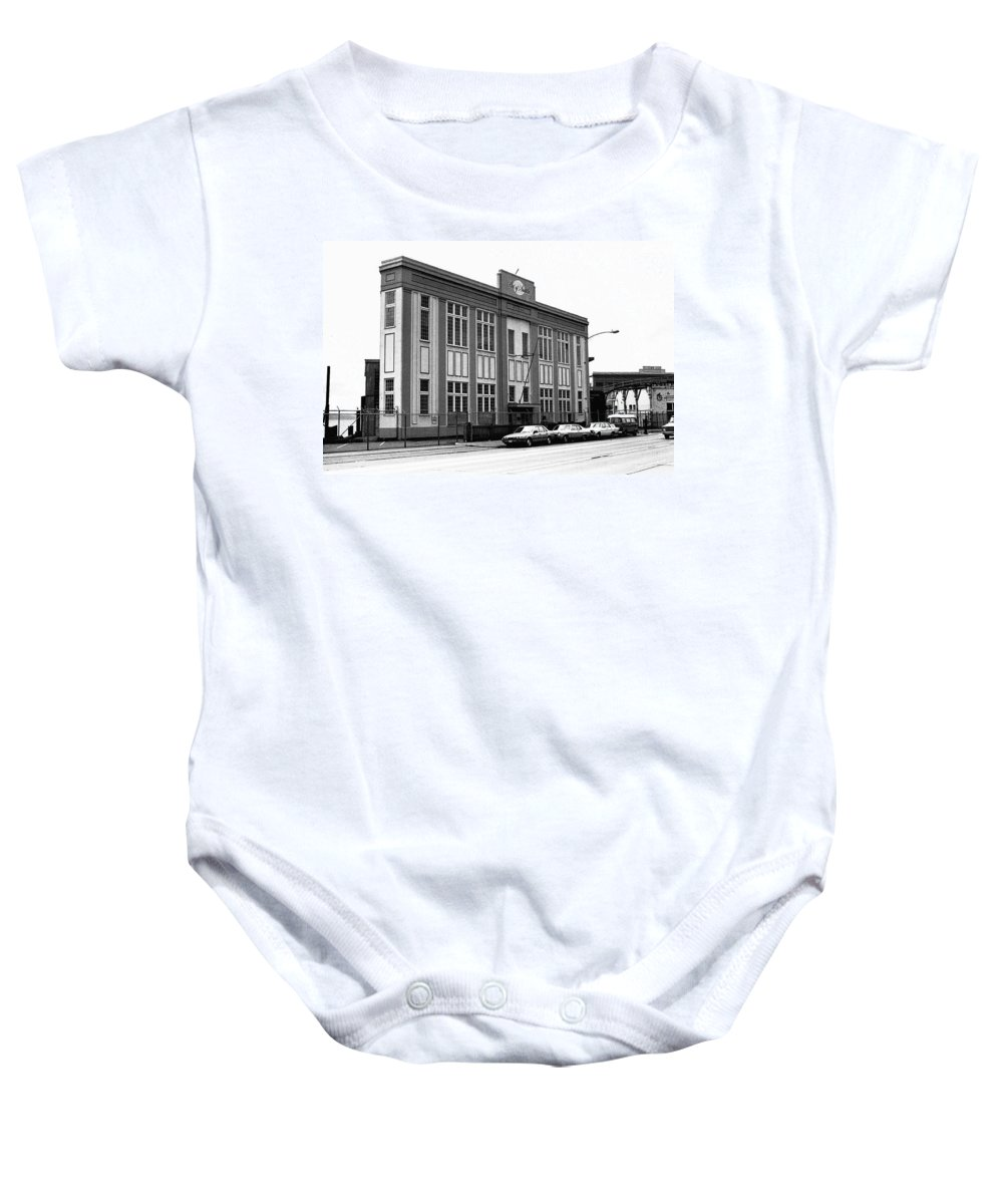 Building Baby Onesie featuring the photograph Port Of Seattle by Karen Ulvestad
