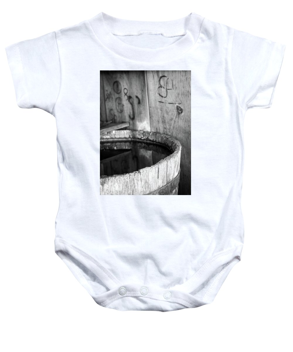 Branding Baby Onesie featuring the photograph Quench The Fire by Martina Schneeberg-Chrisien