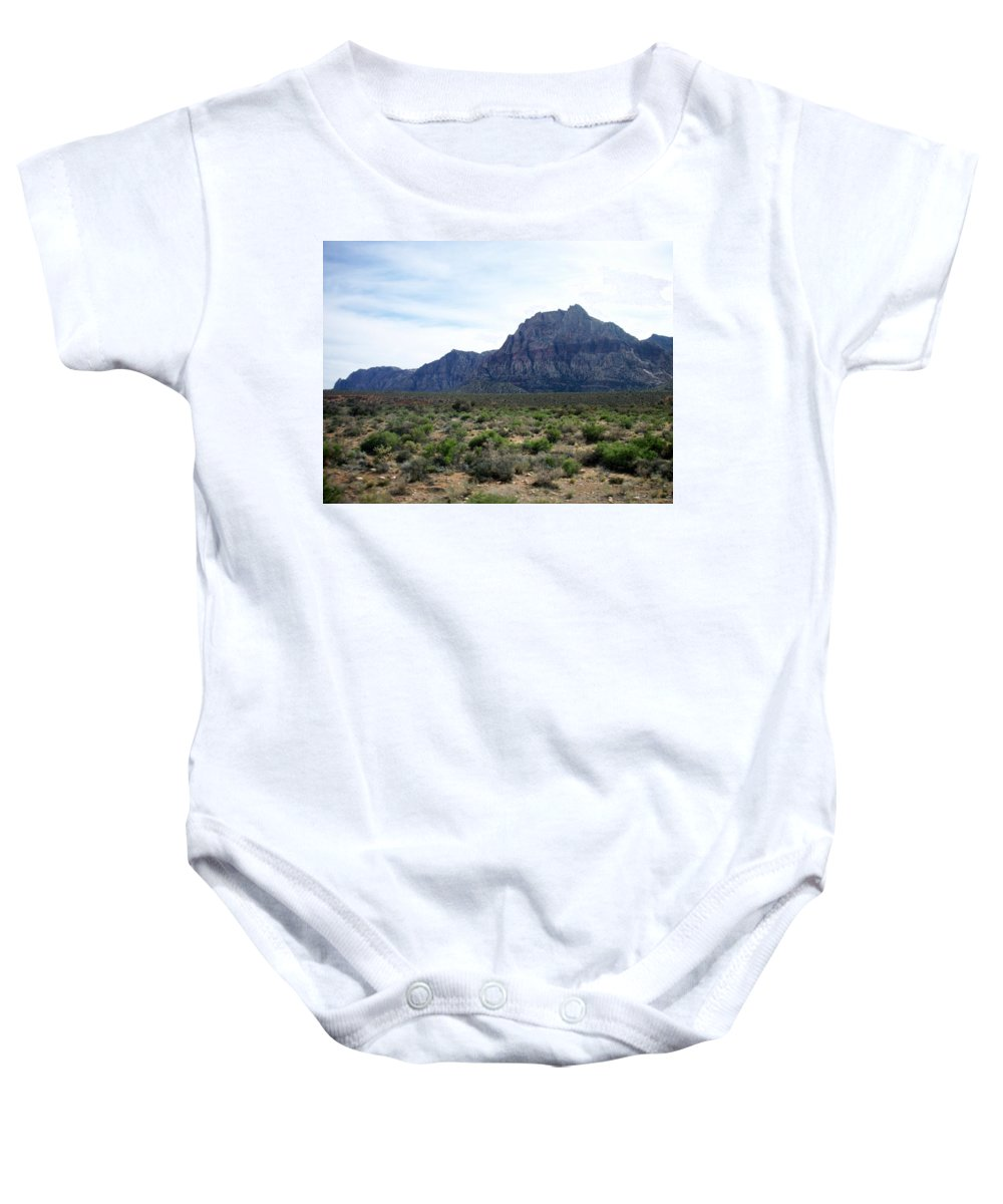 Red Rock Canyon Baby Onesie featuring the photograph Red Rock Canyon 3 by Anita Burgermeister