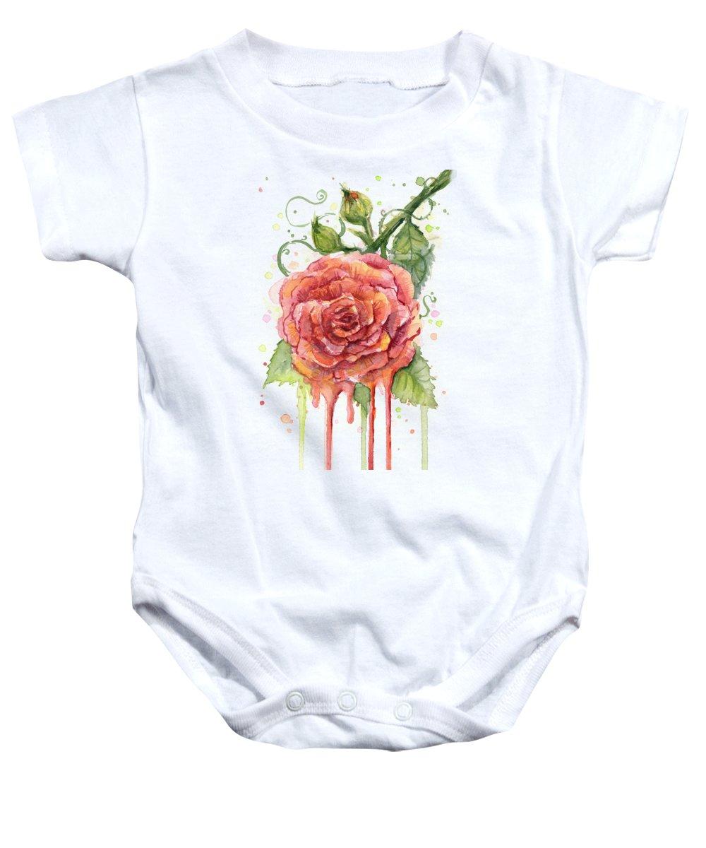 Rose Baby Onesies