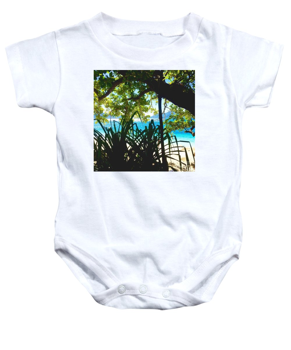 Holiday Baby Onesie featuring the photograph Relax by Maddison May