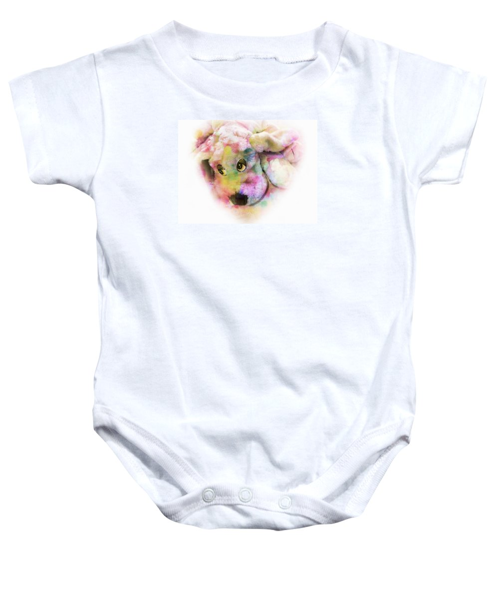 Dog Baby Onesie featuring the photograph Rest by Music of the Heart