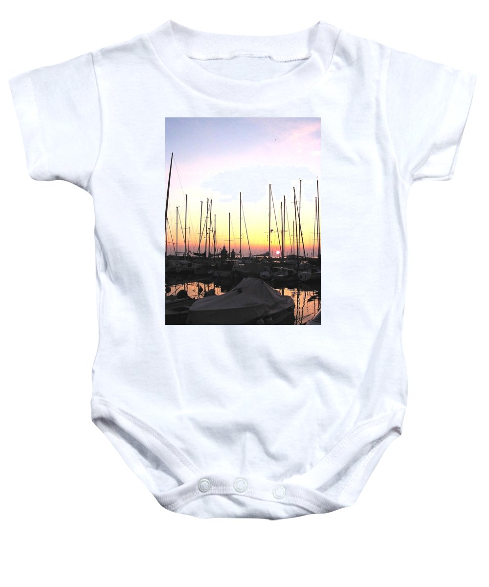 Sea Baby Onesie featuring the photograph Resting Place by Dragica Micki Fortuna