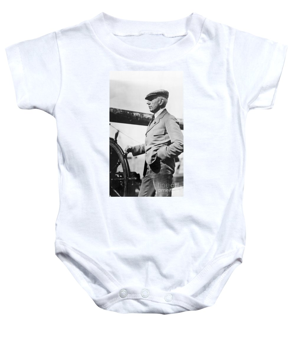 1920 Baby Onesie featuring the photograph Roald Amundsen (1872-1928) by Granger