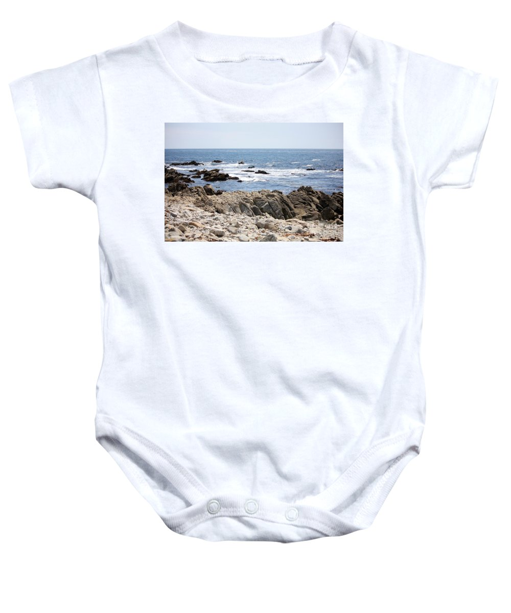 California Baby Onesie featuring the photograph Rocky California Coastline by Carol Groenen