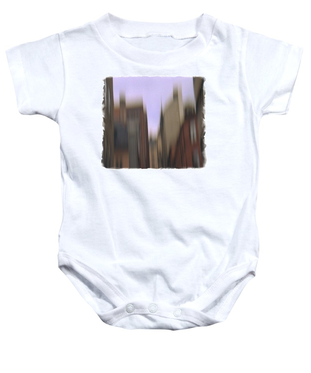 Houses Baby Onesie featuring the photograph Rooftops by Henrik Alexandersson