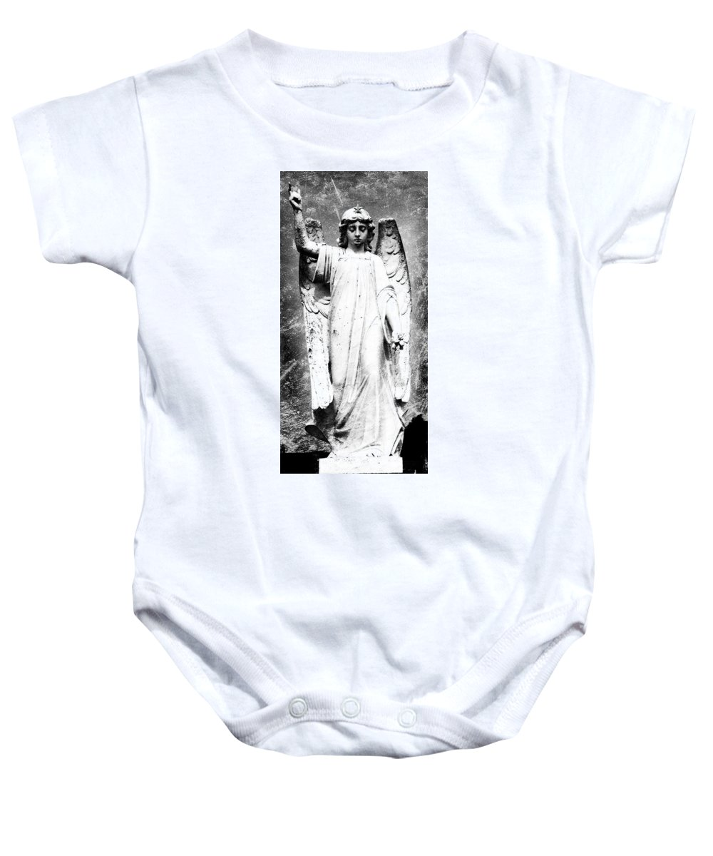 Roscommon Baby Onesie featuring the photograph Roscommon Angel No 2 by Teresa Mucha