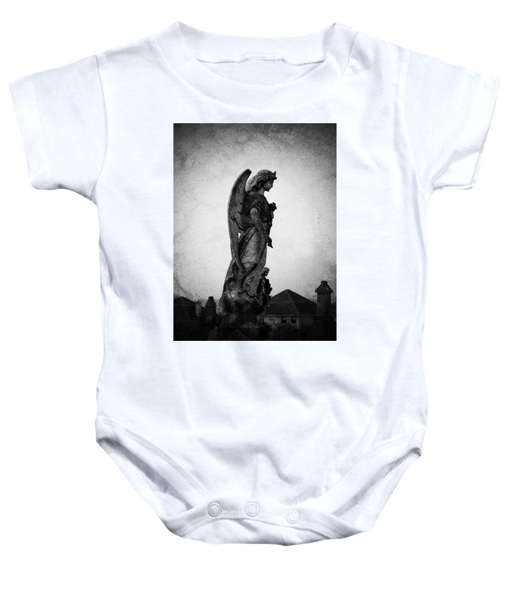 Roscommon Baby Onesie featuring the photograph Roscommonn Angel No 4 by Teresa Mucha