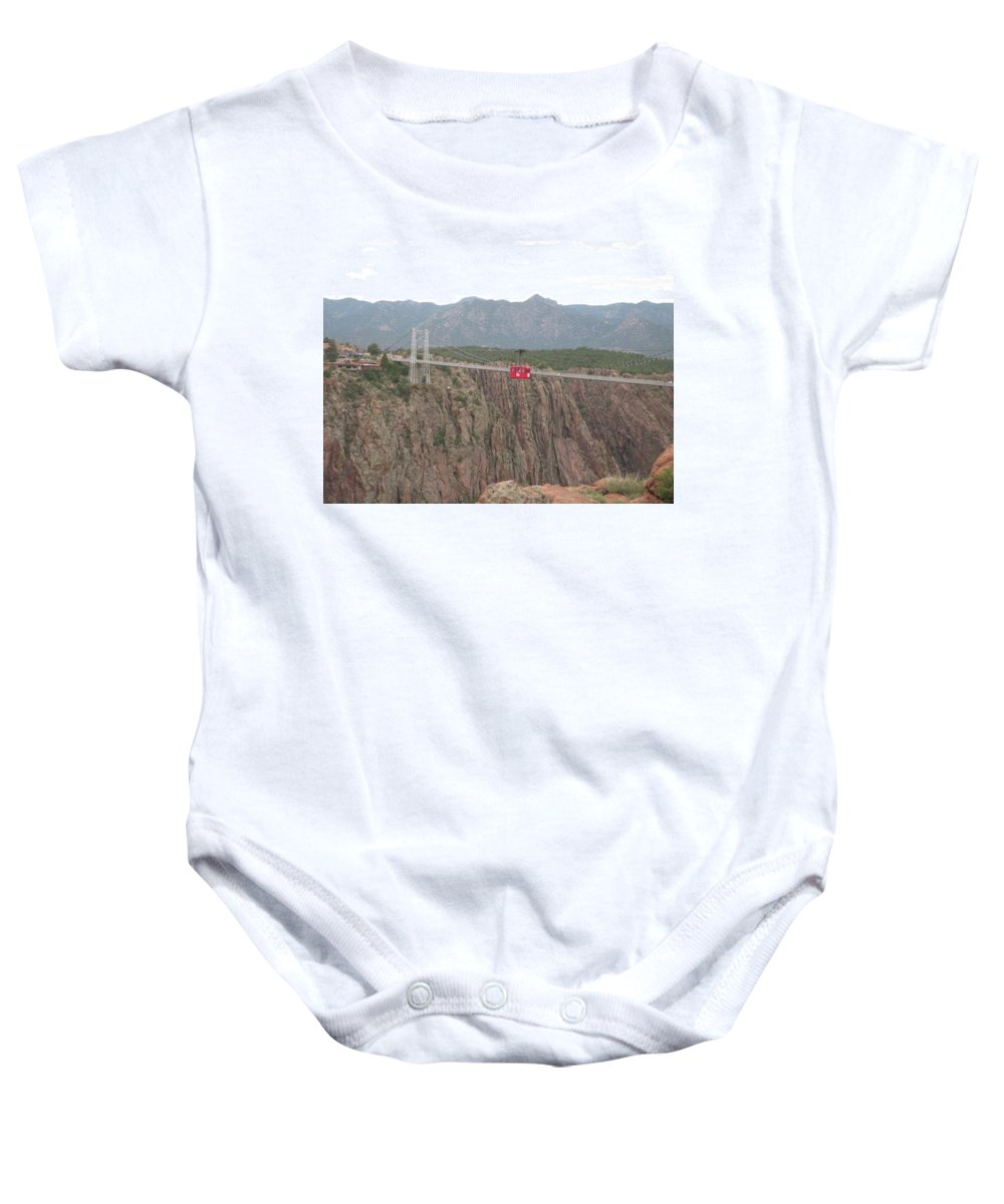 Baby Onesie featuring the photograph Royal Gorge by Rocky Washington