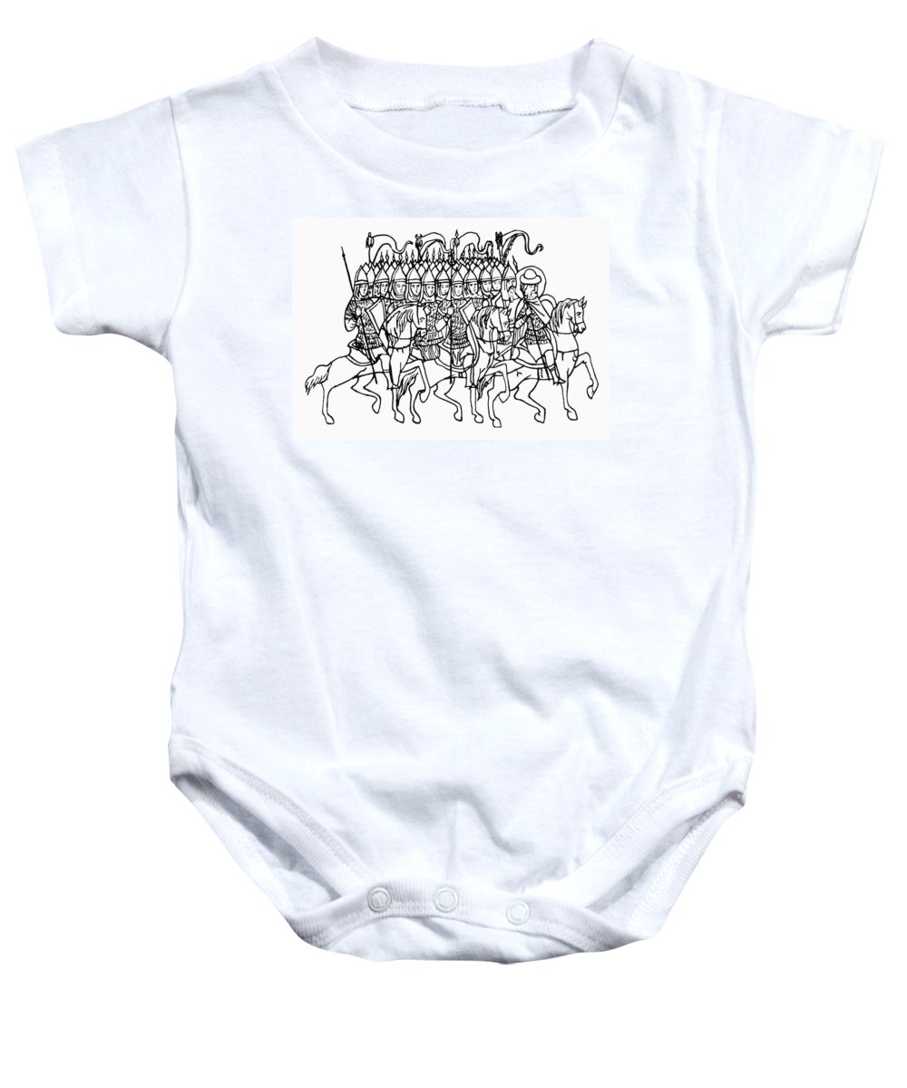 16th Century Baby Onesie featuring the photograph Russia: Royal Guard by Granger