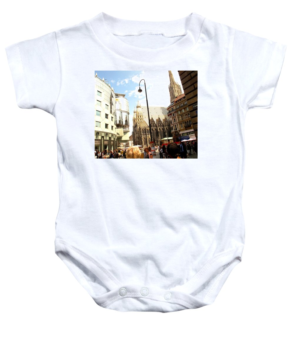 St Baby Onesie featuring the photograph Saint Stephen by Ian MacDonald
