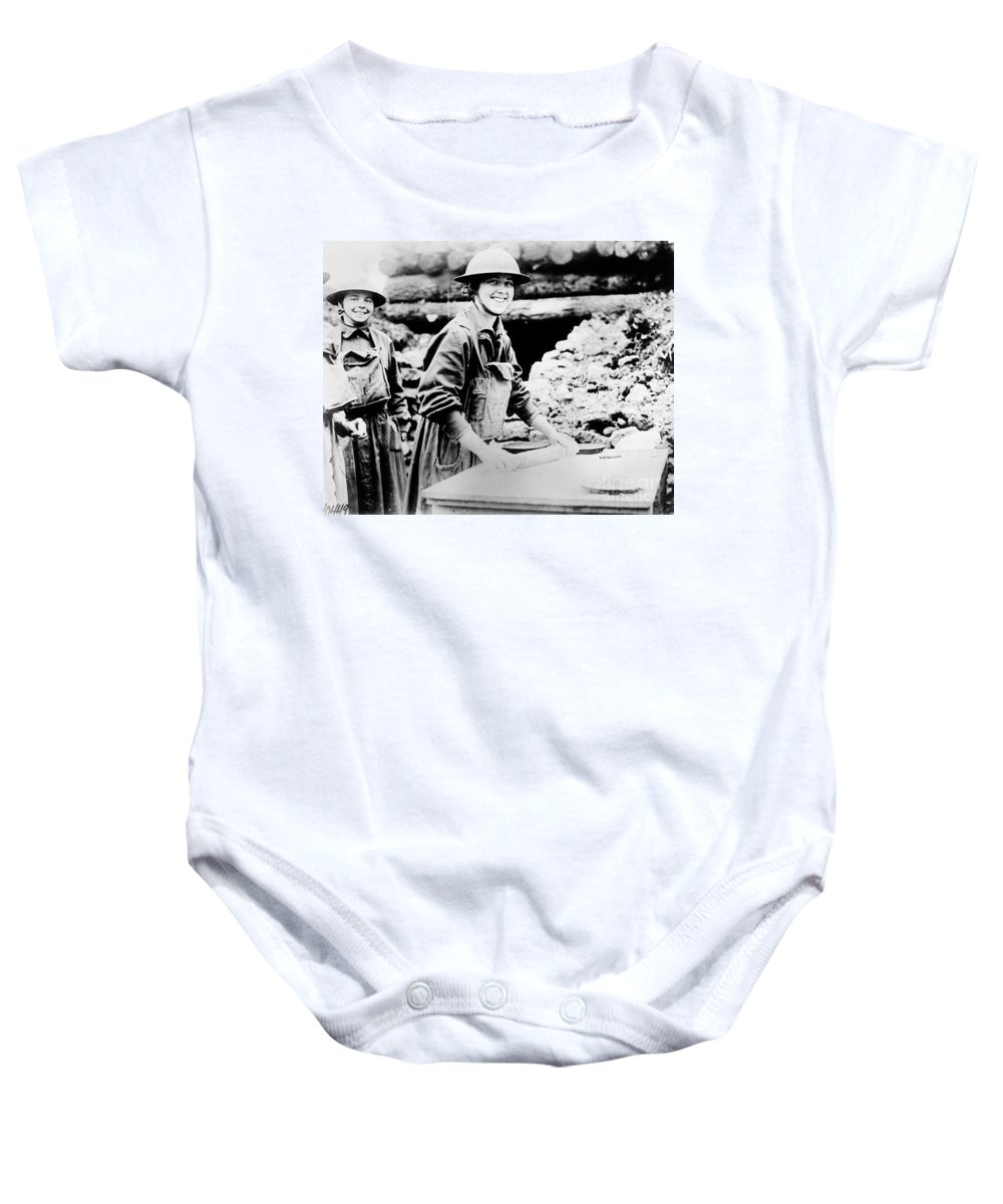 1920 Baby Onesie featuring the photograph Salvation Army, C1920 by Granger