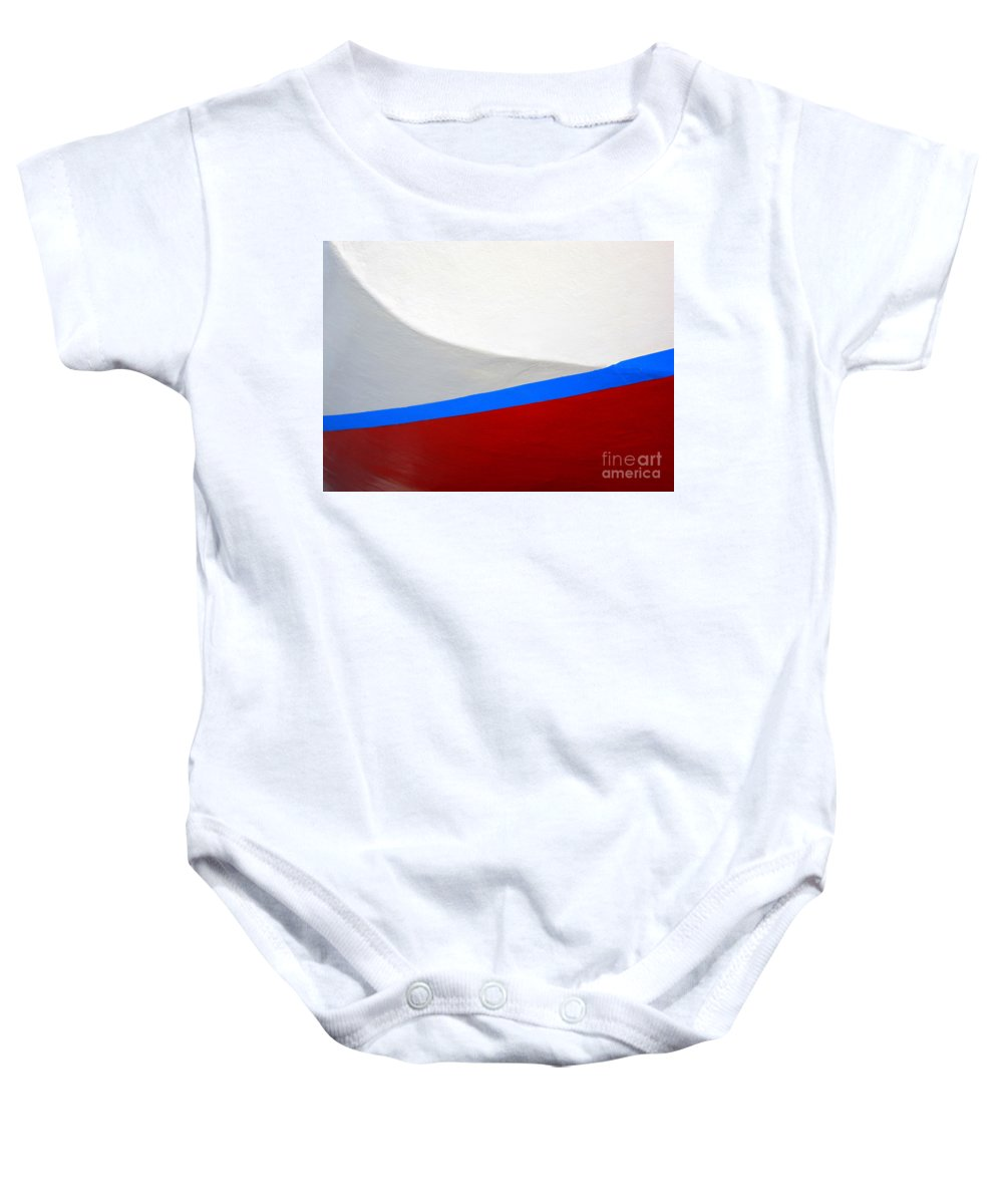Boat Baby Onesie featuring the photograph Seaworthy by Carol Groenen