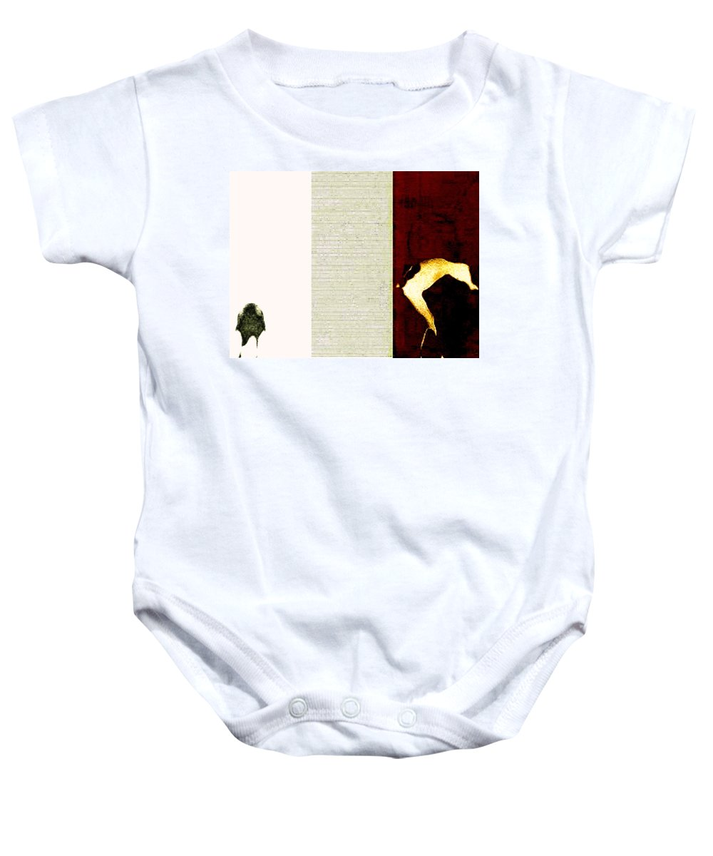 Art Digital Art Baby Onesie featuring the digital art Selling Day - A Trip To The Cattle Market by Alex Porter
