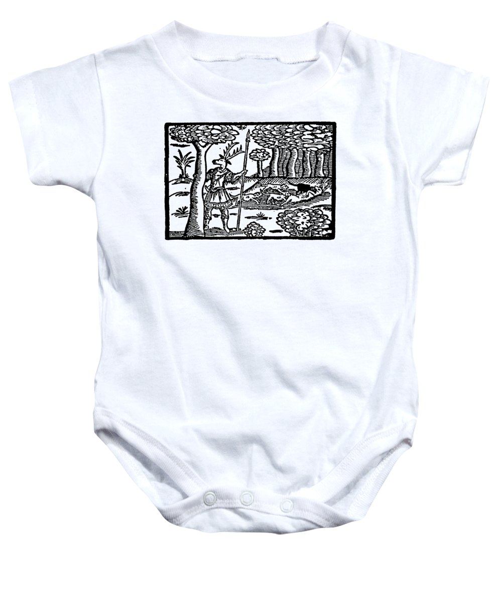 Elizabethan Baby Onesie featuring the photograph Shakespeare: Falstaff by Granger