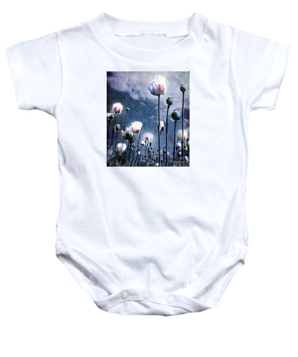 Flowers Baby Onesie featuring the photograph Shine Through by Jacky Gerritsen