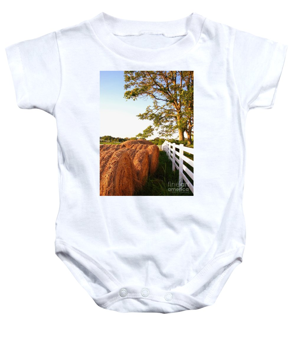 Landscape Baby Onesie featuring the photograph Side-by-side by Todd A Blanchard