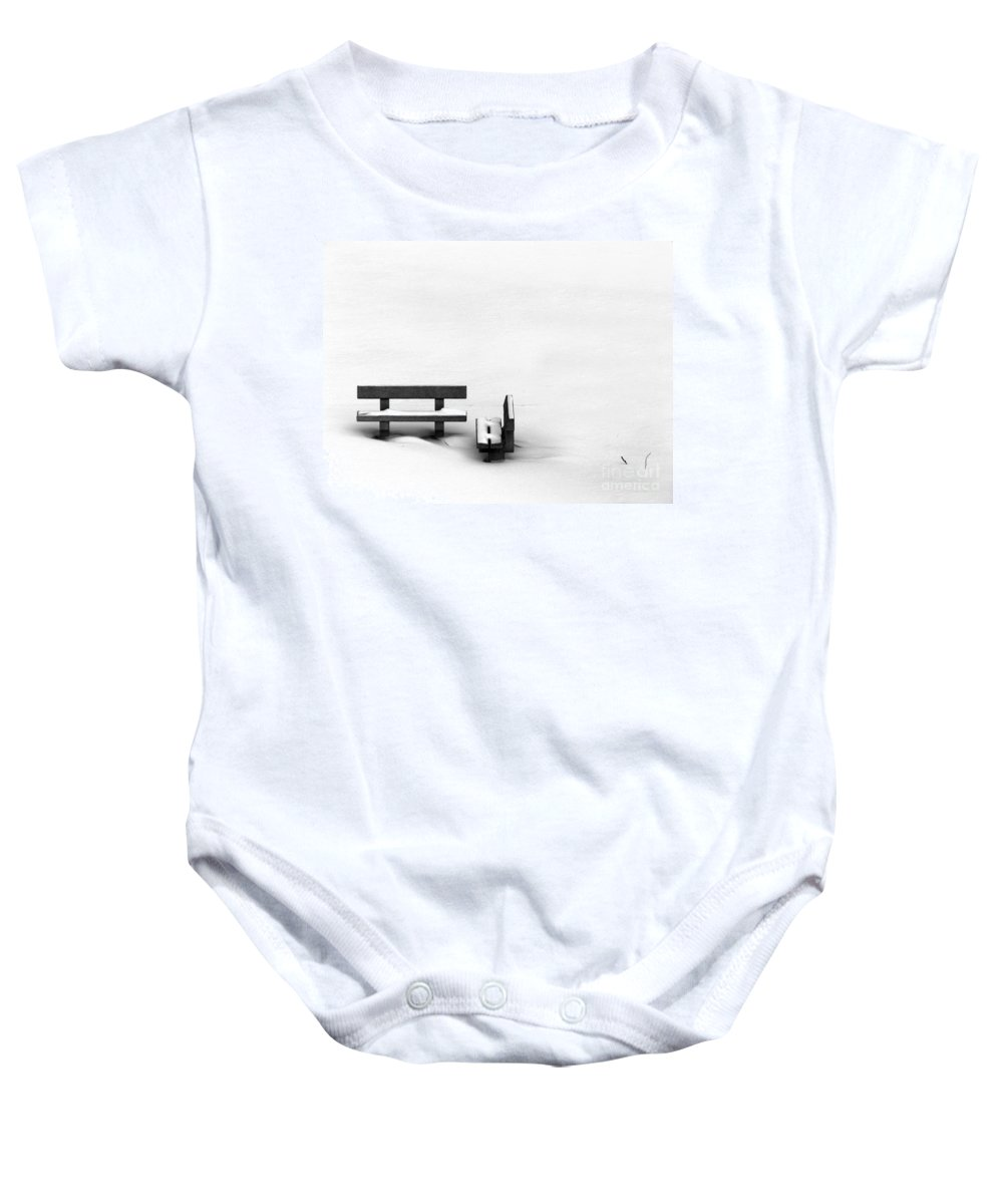 Black Baby Onesie featuring the photograph Someone To Hear You When You Sigh by Dana DiPasquale