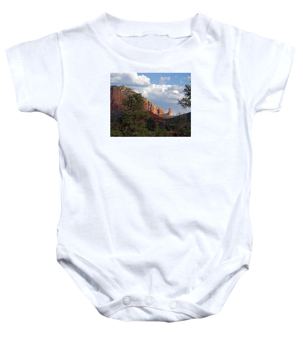 Spectacle Baby Onesie featuring the photograph Spectacle by Lynda Lehmann