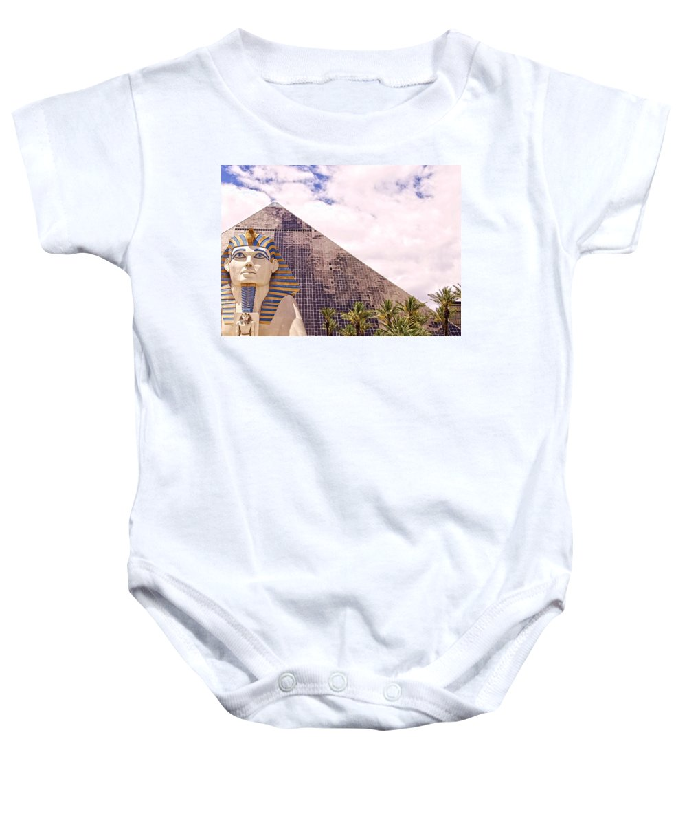 Alicegipsonphotographs Baby Onesie featuring the photograph Sphinx Clouds by Alice Gipson