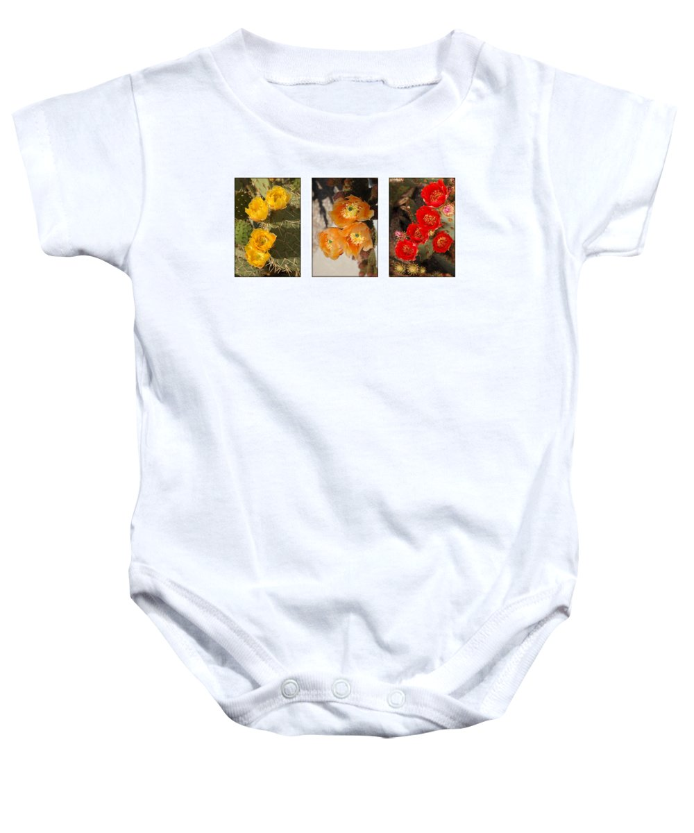 Arizona Baby Onesie featuring the photograph Spring - Desert Style by Jill Reger