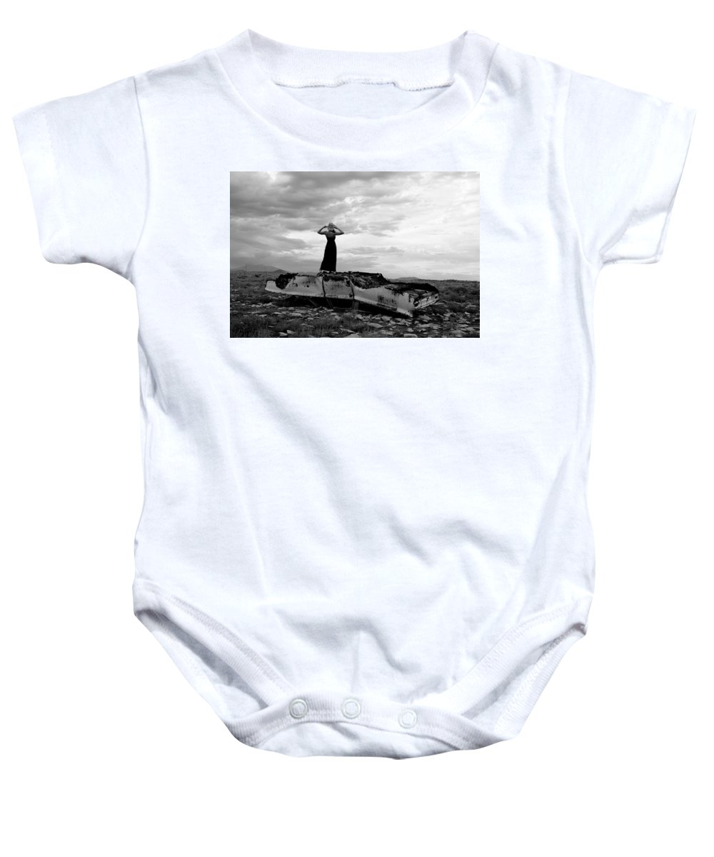 Storm Clouds Baby Onesie featuring the photograph Strength by Scott Sawyer