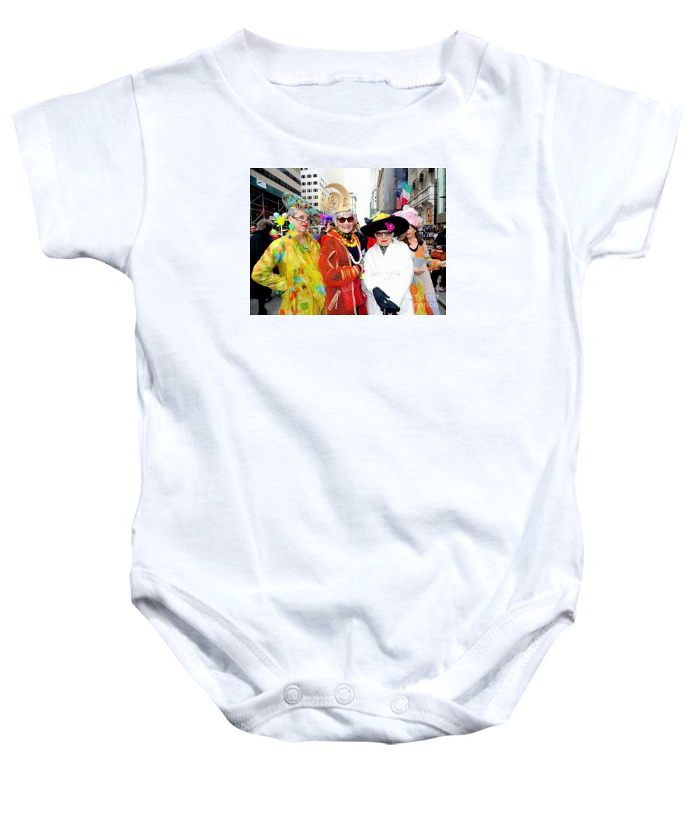 Fashion Baby Onesie featuring the photograph Style Knows No Age by Ed Weidman