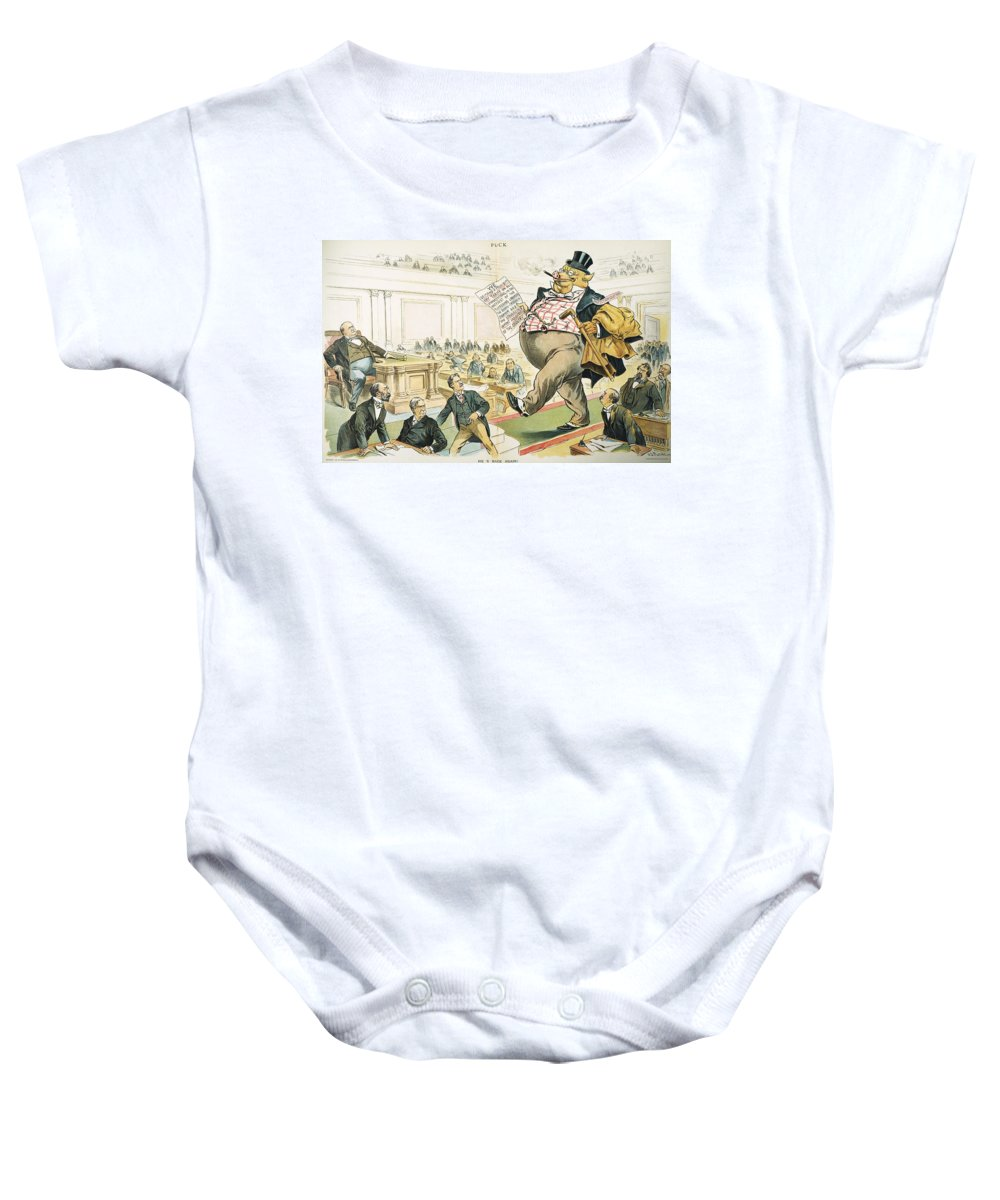 1897 Baby Onesie featuring the photograph Tariff Lobbyist, 1897 by Granger