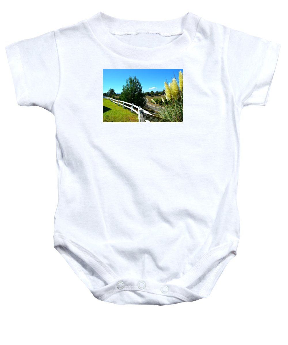 Nature Baby Onesie featuring the photograph Temecula Scenery by Tristan Cota
