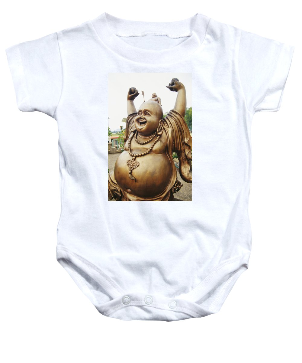 Arm Baby Onesie featuring the photograph Thailand, Pattaya by Bill Brennan - Printscapes