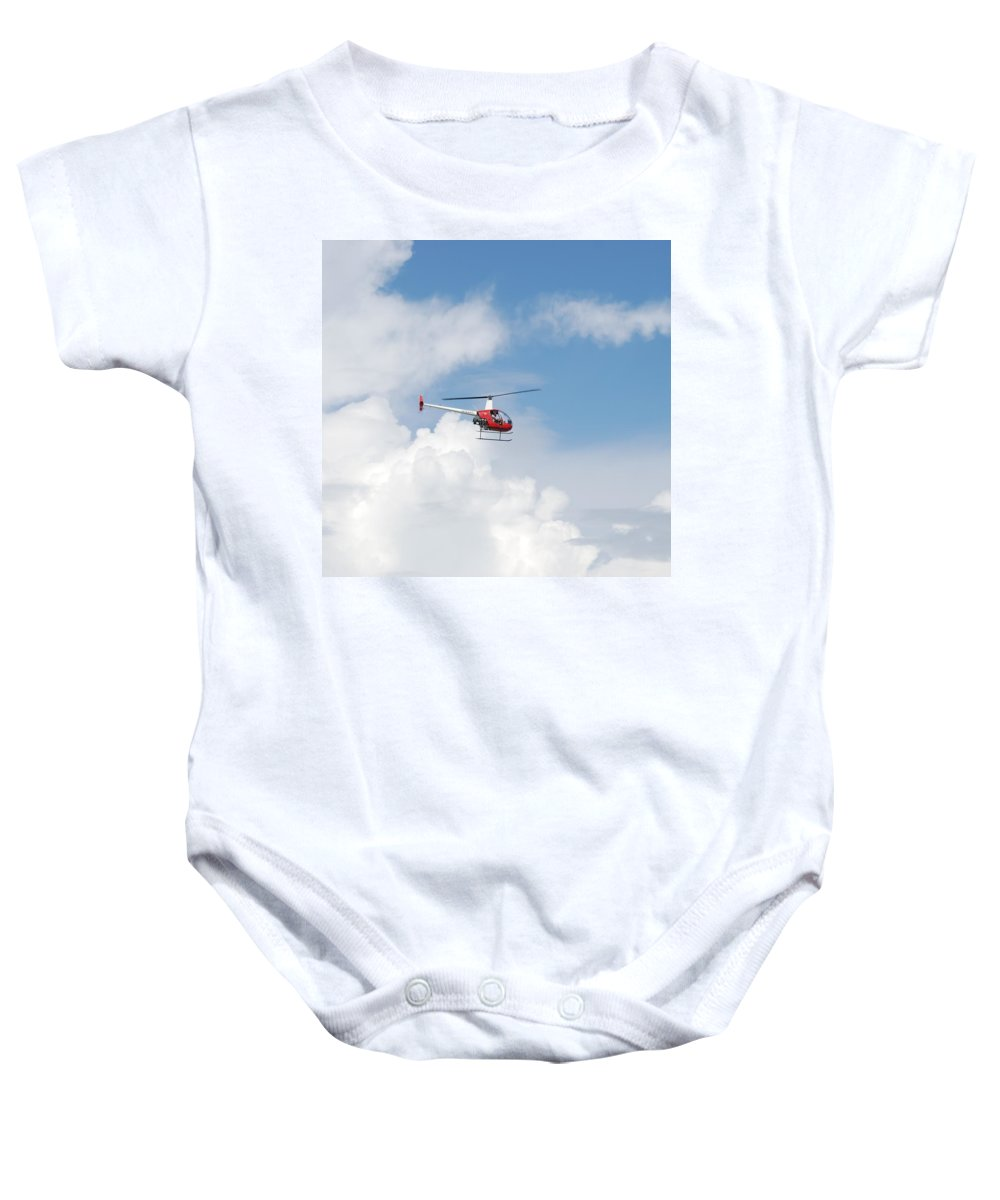 Helocopter Baby Onesie featuring the photograph The Chopper by Rob Hans