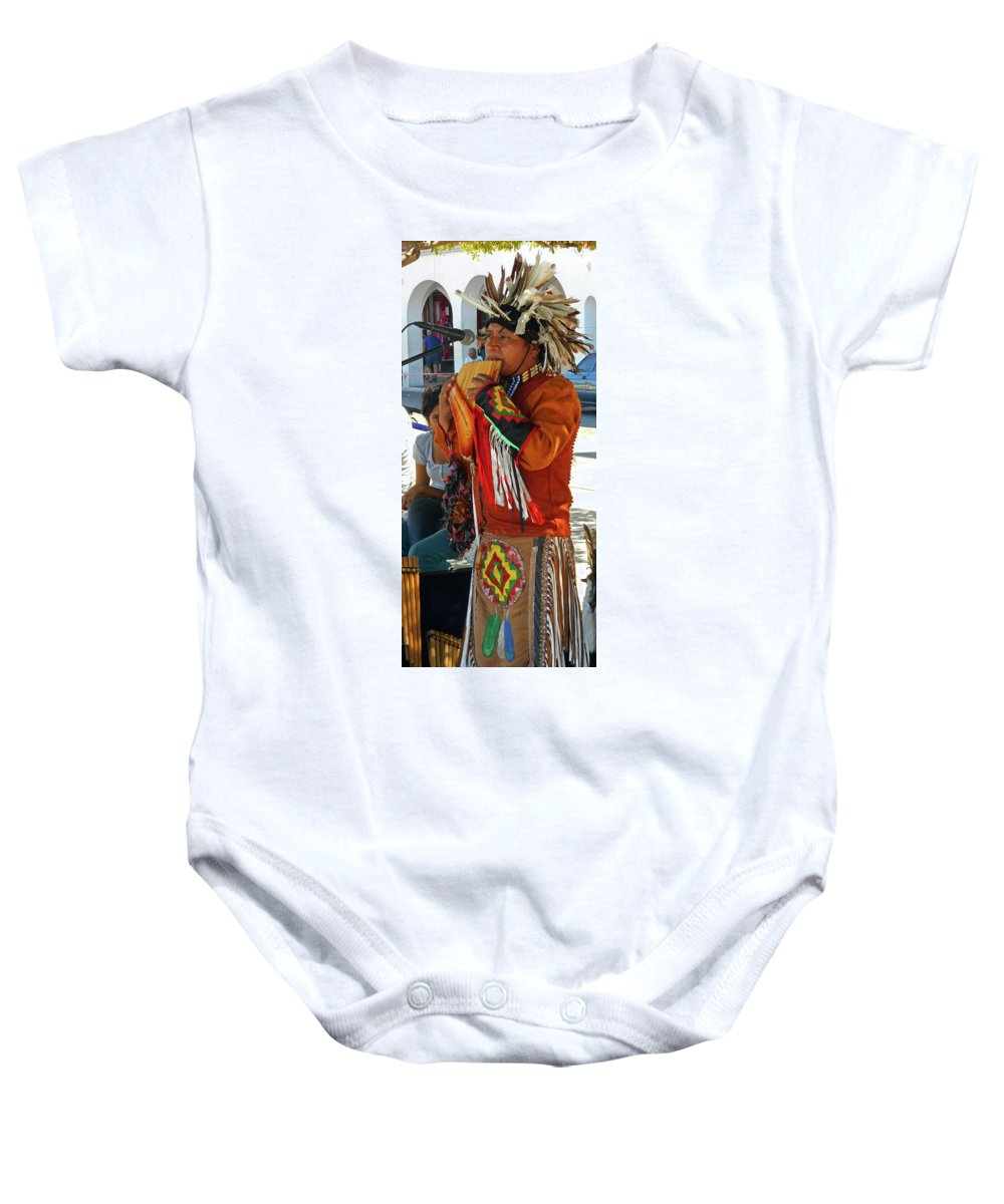 The Malecon Baby Onesie featuring the photograph The Malecon 4 by Ron Kandt