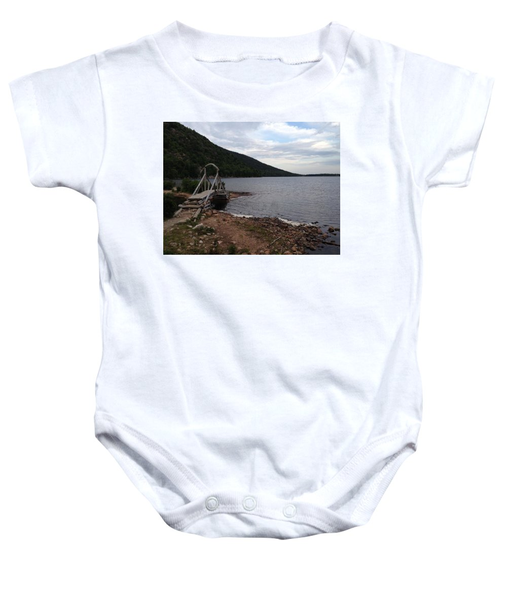 Baby Onesie featuring the photograph The Other Side by Rob Epps