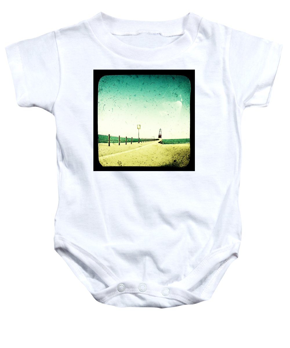 Beach Baby Onesie featuring the photograph These Days Are Gone by Dana DiPasquale