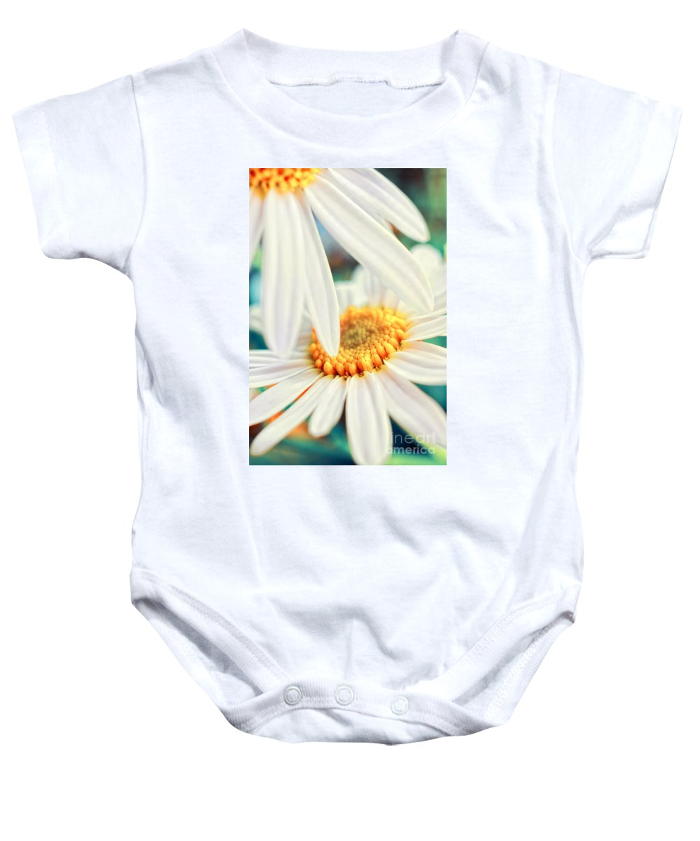 Flowers Baby Onesie featuring the photograph Touch by Silvia Ganora