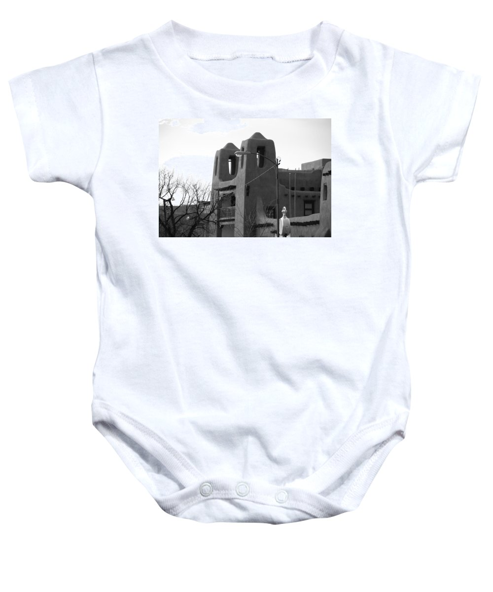 Architecture Baby Onesie featuring the photograph Town Hall by Rob Hans
